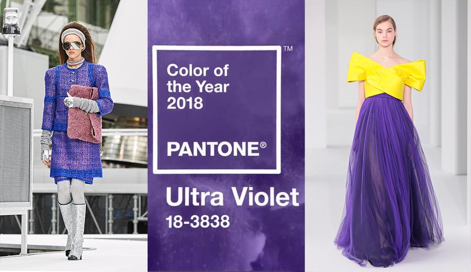 Y el color Pantone de 2018 es… Ultra Violet