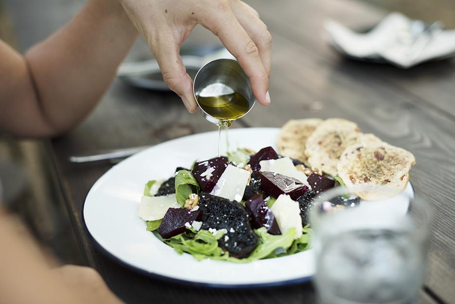Dos saladas (y una dieta) para un cuerpo 10