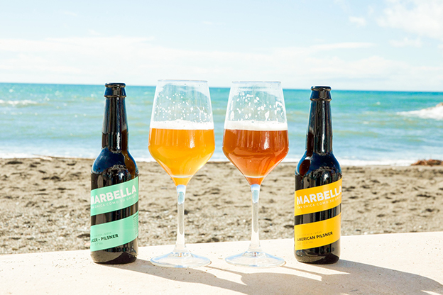 Cerveza malagueña artesanal Marbella.