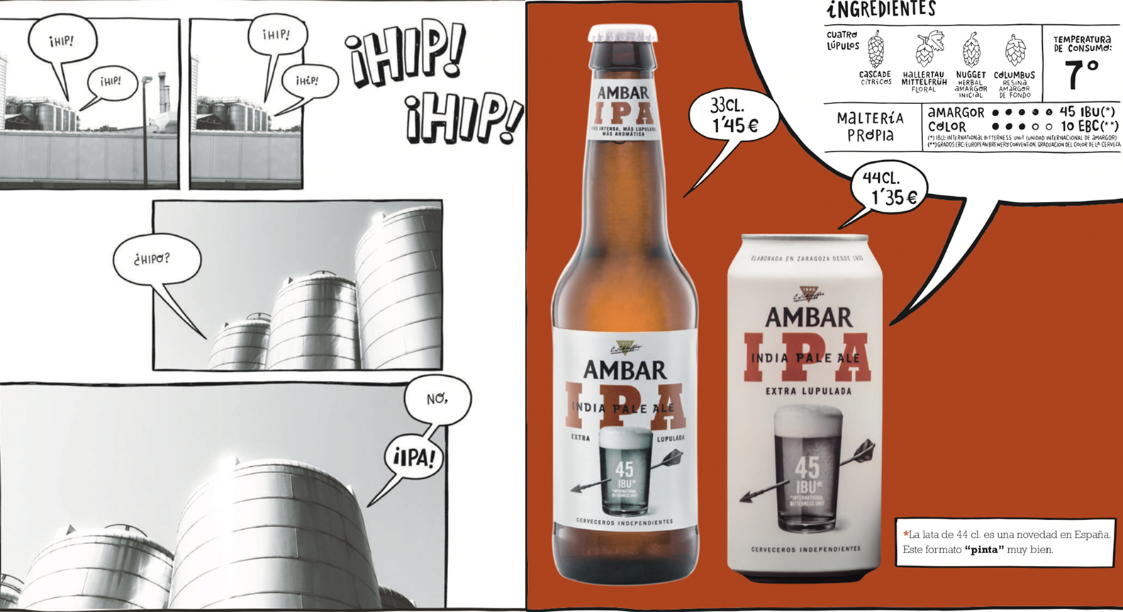 Ipa de Ambar cerveza