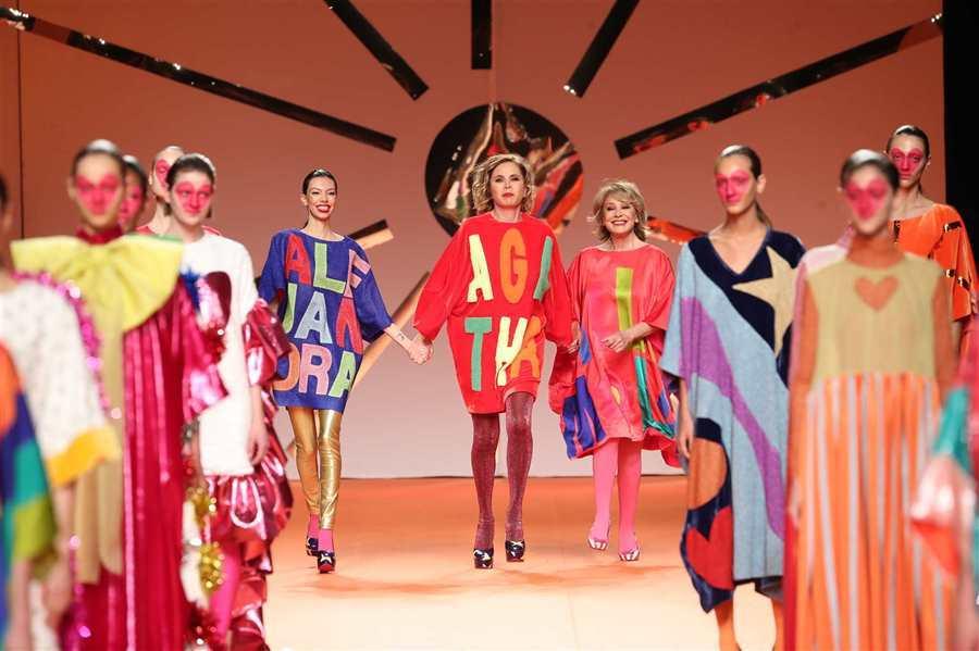 Elegancia, color y estructuras; así ha sido el segundo día de la MBFW Madrid