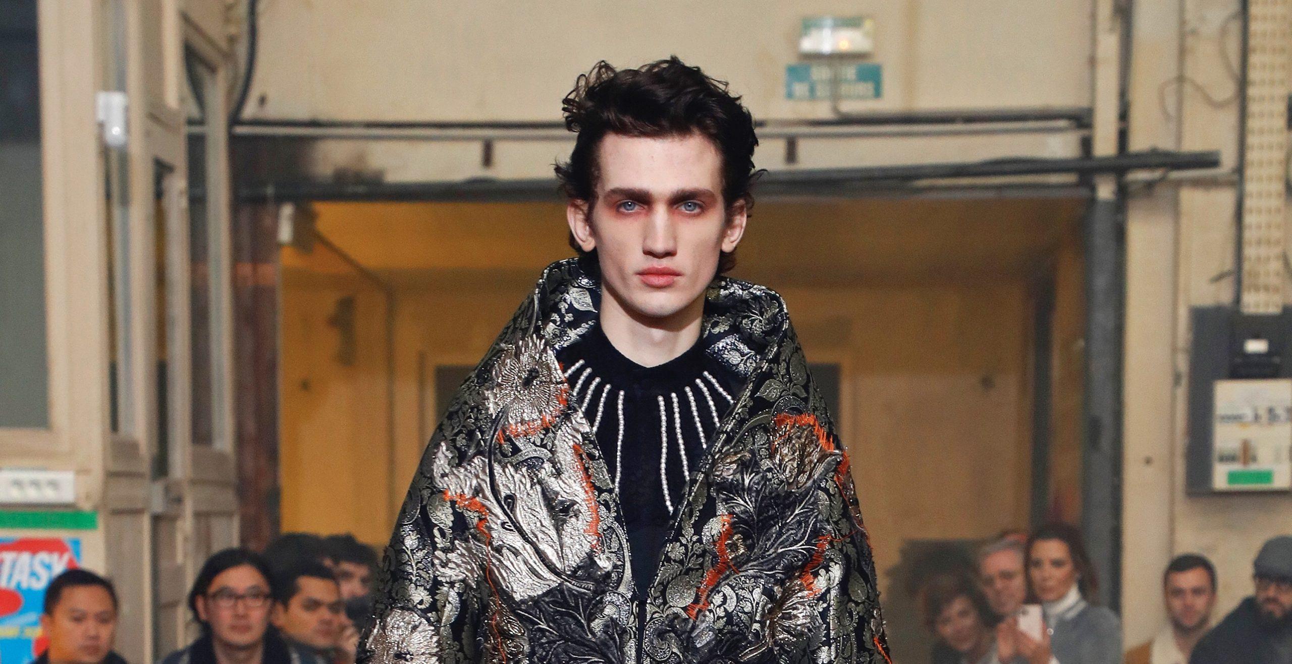 El éxtasis de Palomo Spain inunda la Paris Fashion Week Men's