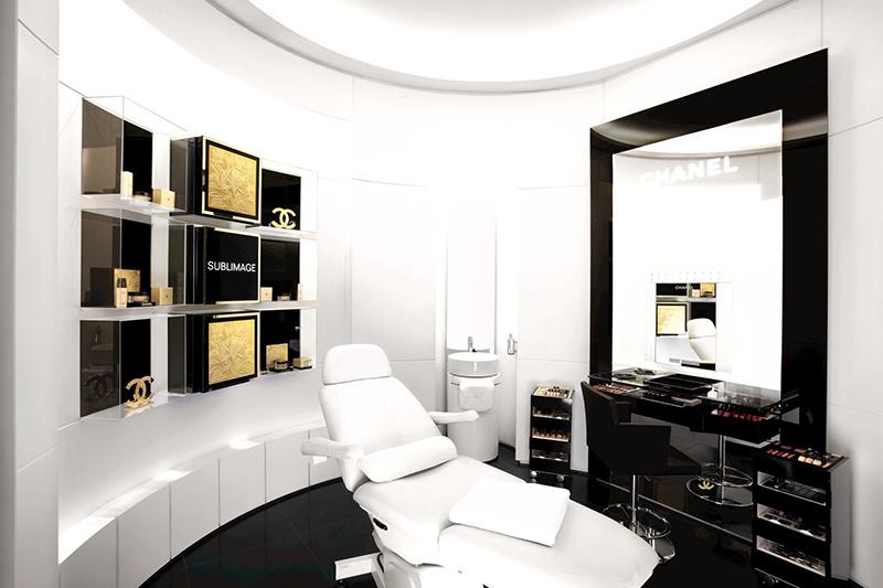 Espace Beauté de Chanel, en Serrano47Woman