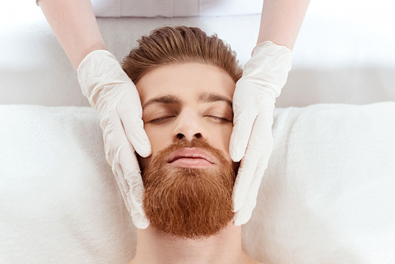 Tratamiento estético hombre
