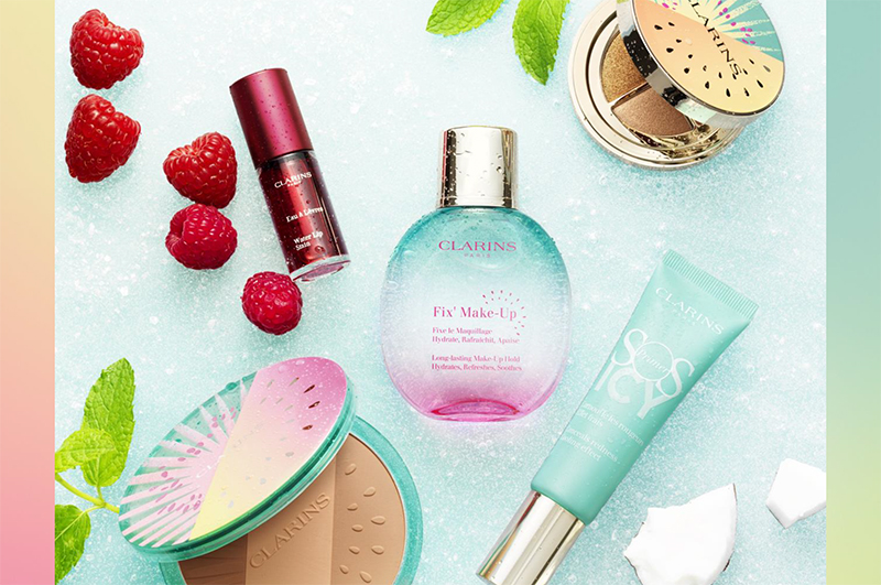 Clarins Frozen Summer Make UP