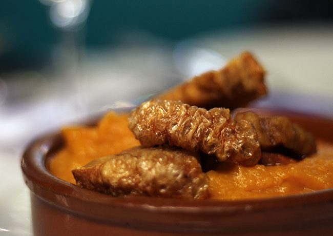 Patatas revolconas I Dudua Palacio